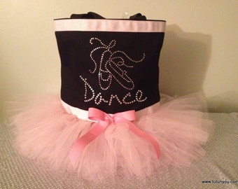 Ballerina Tutu Dance Bag-Light Pink-Tutu Bag-Dance-Princess-Birthday