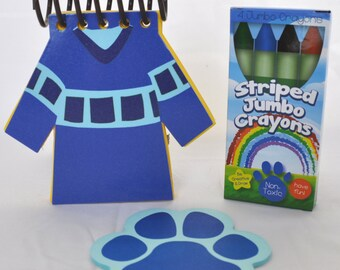 Blue's Clues Handy Dandy Joe's Shirt Notebook *BLUE*