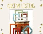 Custom Listing for Charlene . . . Rustic Barnwood Frames