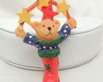 Christmas Bear Brooch