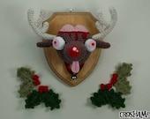 """Braindeer - Christmas """"Antigurumi"""" figure"""