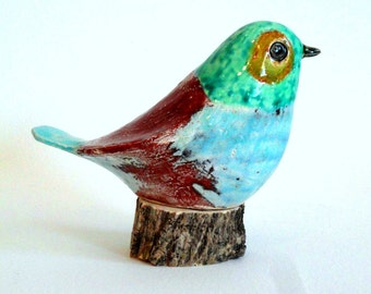 SALE! ceramic bird