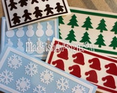 ULTIMATE Holiday Nail Decal Pack- Nail Vinyls