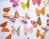 100 Classic Butterfly  paper K & Company die cuts scrapbooking  E549