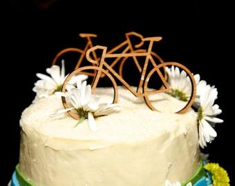 Wedding Cake Bike Toppers
