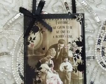 Mother's Day Mother's Love Family  Decorative Plaque