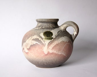 Mid Century Fat Lava Pitcher  - Ruscha Art