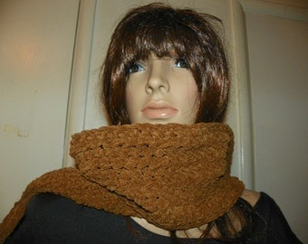 Rustic  Scarf  Stunning Neck Warmer  Super Soft Ready to Ship