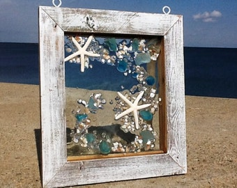 Beach Glass Window Hanger