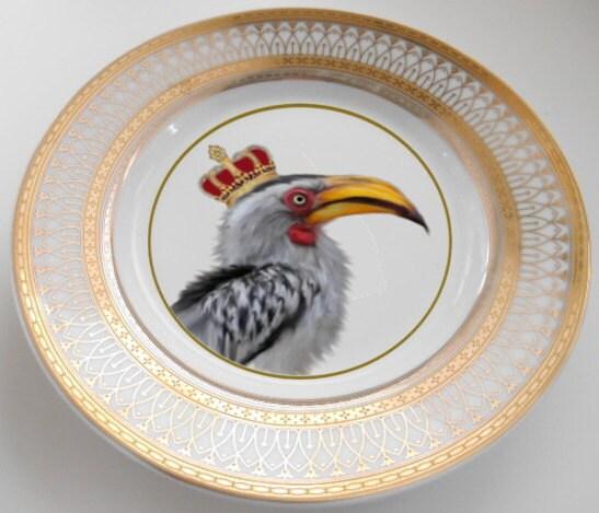 ... tea set skull tea skull porcelain unusual dinnerware unusual porcelain unusual dishes funky dishes custom plates custom dinnerware ... & Custom Order for Nadya - Three 6-piece Bird Dinnerware Sets