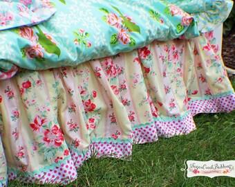Emma Gathered Bed Skirt