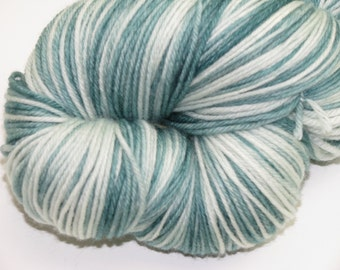 Cashmere and Superwash Merino Hand Dyed  Sock Yarn