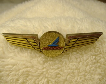 Vintage 1970's Piedmont Airlines Wings