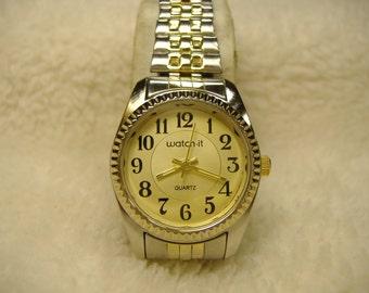 Vintage 1980s Watch-It Quartz Watch