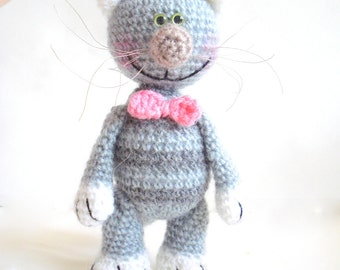 Amigurumi Cat Pattern, Crochet tutorial, Patterns