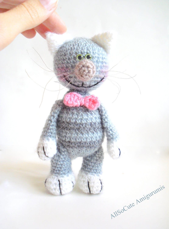 Amigurumi Cat Crochet Pattern : Amigurumi cat pattern crochet tutorial patterns