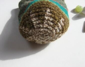 large wool drawstring pouch medicine dice bag