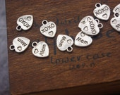 Promotion season-xo xo Mom charms-Shop sale-50 pcs words charms-F1126