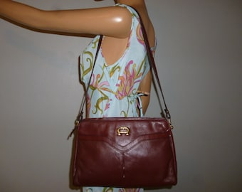 Vintage 1970's - Etienne Aigenr - Brown - Boho - Hippie - Shoulder Bag
