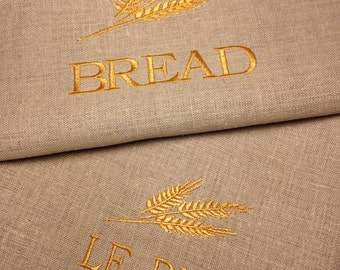 Linen Bread Bag by TracyCooksinAustin Listing for a set of two