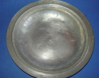 ABSOLUTELY rare ANTIQUE Folk Art Ottoman Empire Greek RITUAL Plate Bowl Inscribed