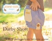 BG Original The Darby Shorts pdf pattern