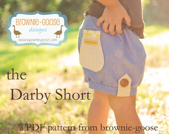 BG Original The Darby Shorts pdf pattern