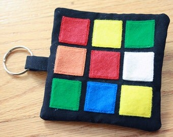 Rubix Cube coin pouch