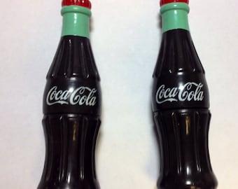 Vintage Collectable Set - Coca Cola Brand Bottle Corn Holders