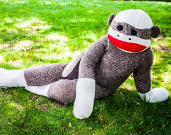Sock Monkey Costume - Made to Order