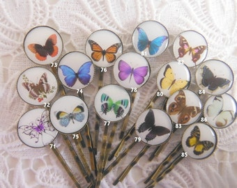 Buy Any 4 Butterfly Bobby Pins