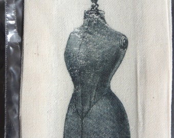 Cloth Drawstring Bag - Mannequin Dress Form