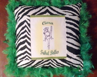Personalized Drill Team Pillows