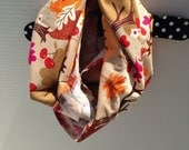 Foxes In Fall Infinity Scarf for Kids