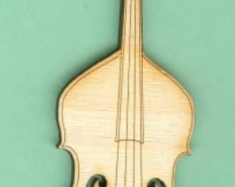 Upright Bass (MU-005) - Laser Cut