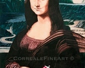 Mona Lisa With Coke