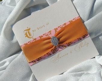 Sleeping Beauty Wedding Invitation - Aurora Inspired Wedding Invitation