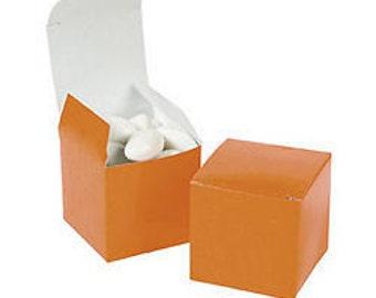 Orange Favor boxes-12 EA.