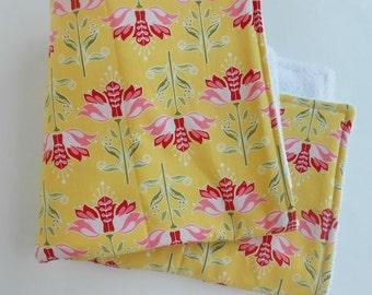 Yellow  Dish Mat / Kitchen Drying Towel / Dish Drying Mat /  Great Gift