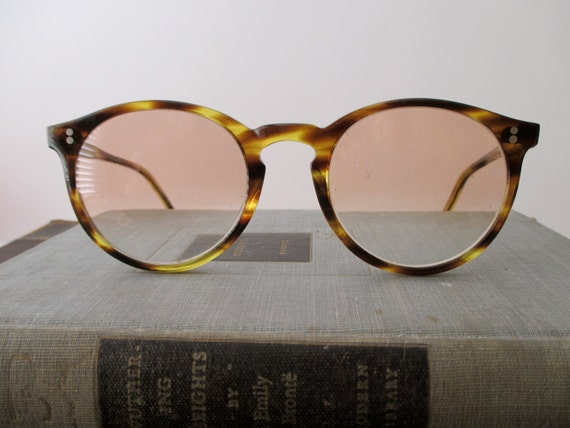 Vintage Tortoise Shell Eyeglass Frames : vintage tortoise shell eyeglass frames glasses by TrunkGypsies