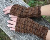 Fingerless Gloves, Fingerless Mitts, Wrist Warmers.  Average size