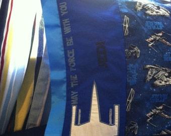 Star Wars Jedi Pillowcase personalized