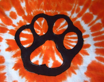 """Tie dye shirt- youth small ready to ship- """"Aww it's a PAW!""""   325"""