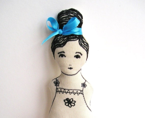 ELEONORA - Comfort doll / cloth doll / art doll / OOAK