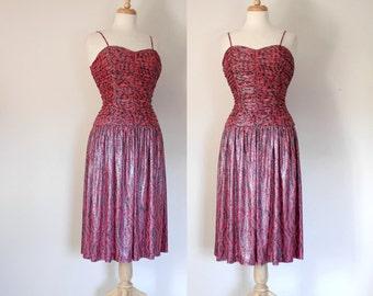 90s Sweetheart Glam Dress