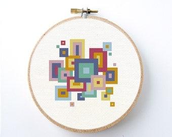 Square Stitch Etsy