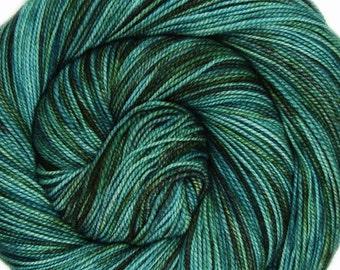 DESTINATIONS sw merino or bfl nylon high twist sock yarn St PETERSBURG fingering weight 3.5oz 400 yards