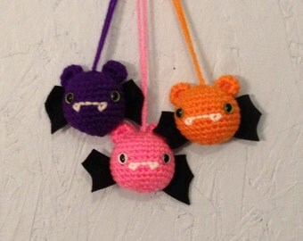 Little Bat - amigurumi - stuffed animal -