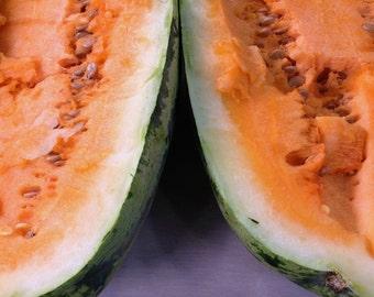 SALE! Orangeglo Watermelon Best Tasting Very Rare Heirloom Melon