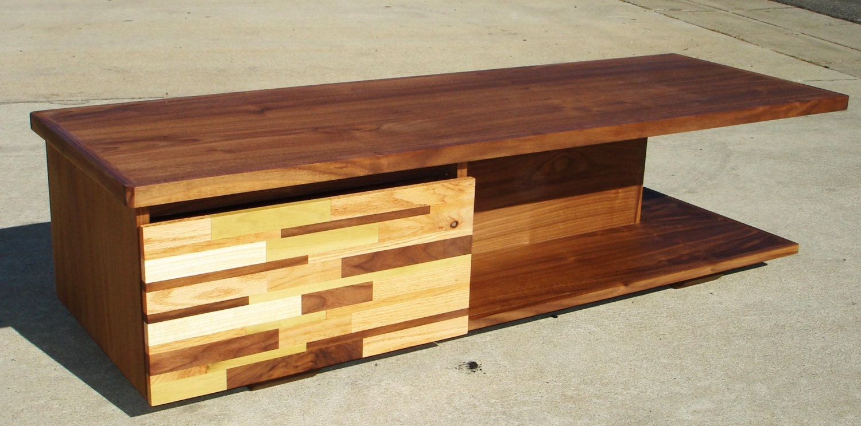 mid century modern tv console credenza tv stand mcm by pmistudios. Black Bedroom Furniture Sets. Home Design Ideas